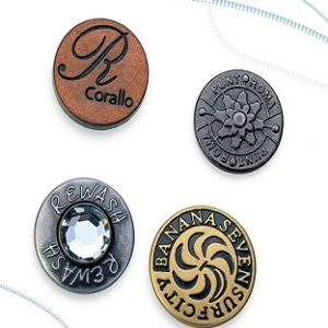 Nylon Insert Jeans Button