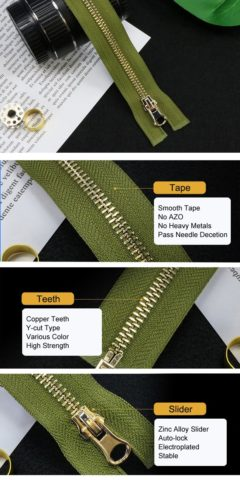 39-Standard Metal Zipper