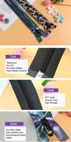 44-Rubberizing Waterproof Coil Zipper